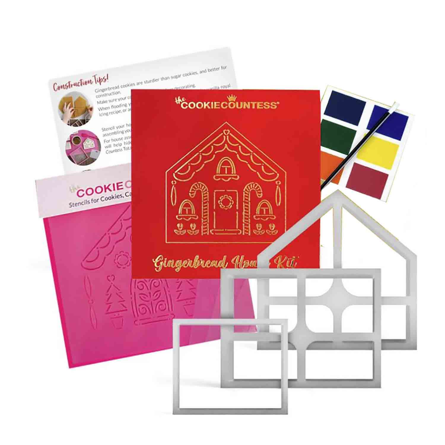 Gingerbread House 3 Piece Cutter Set