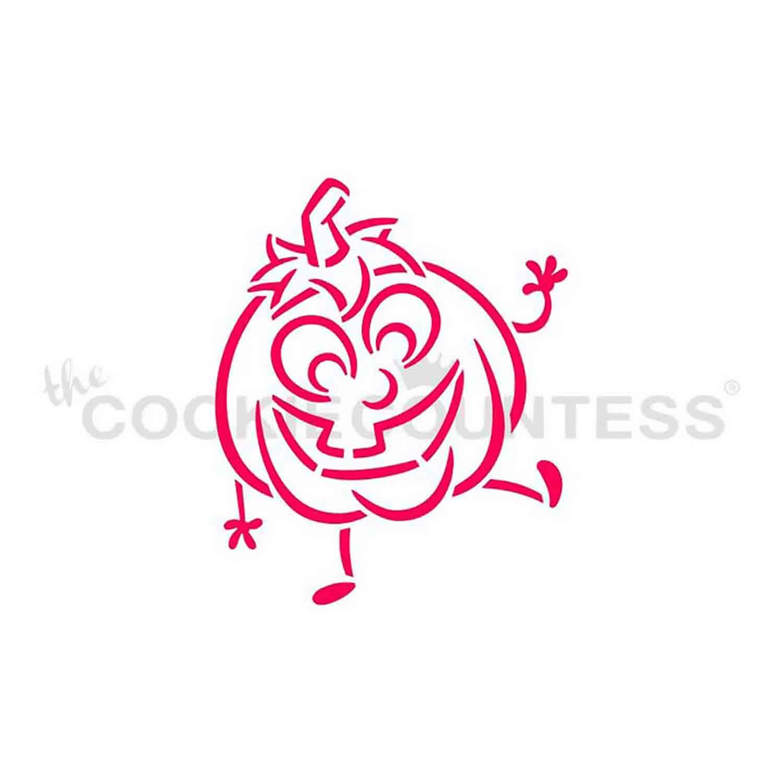 Happy Jack Cookie Stencil