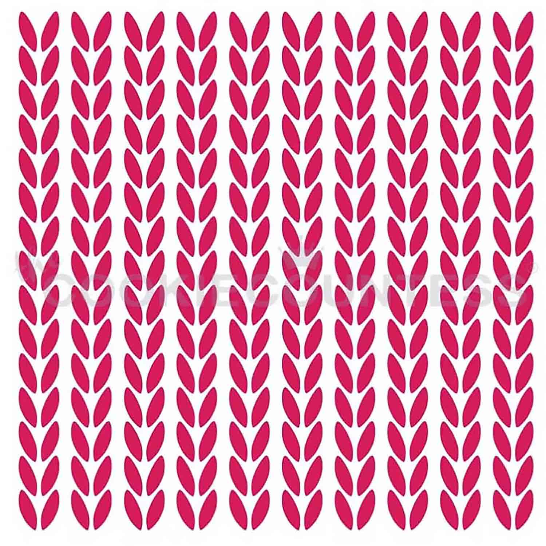 Knit Pattern Stencil