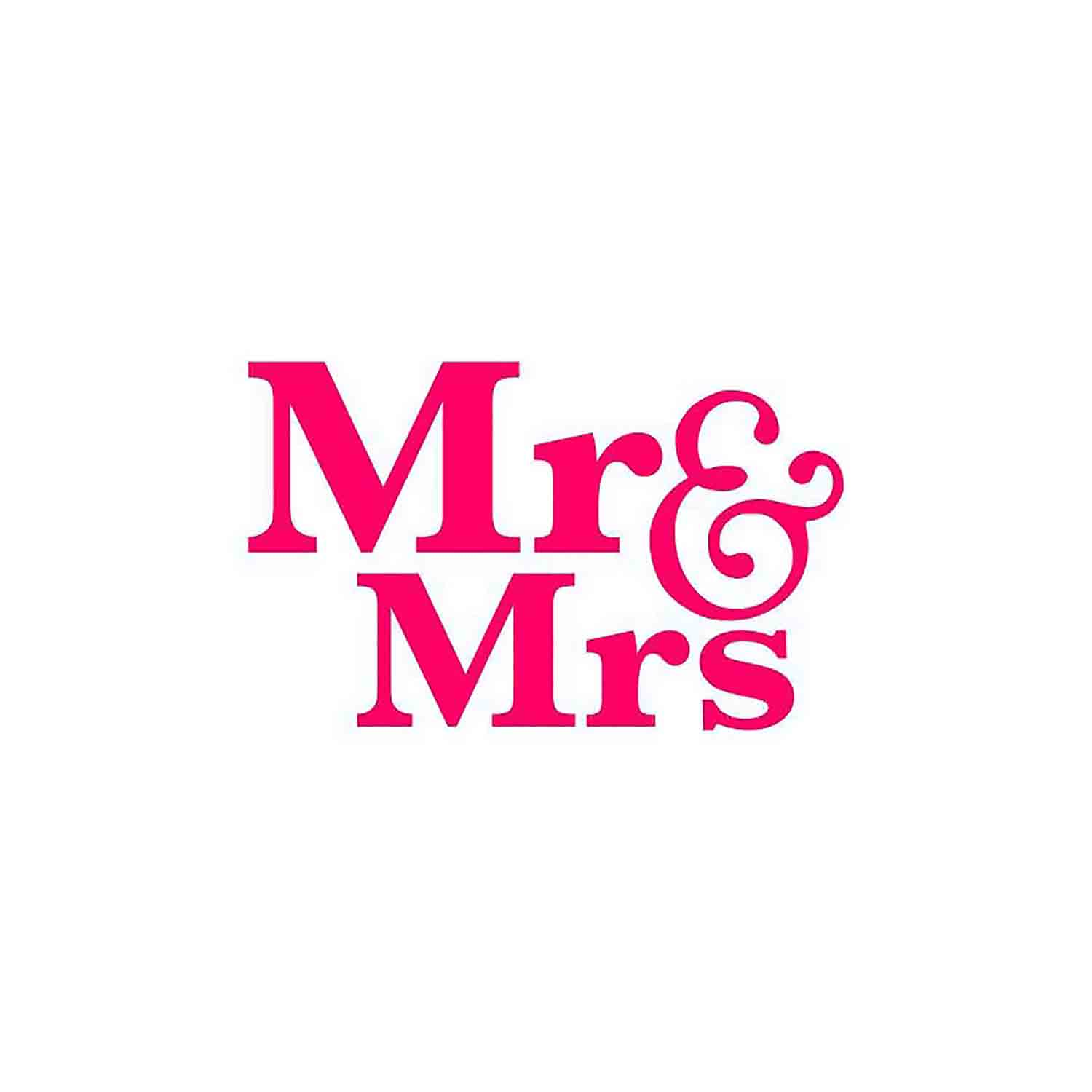 Mr. & Mrs. Cookie Stencil