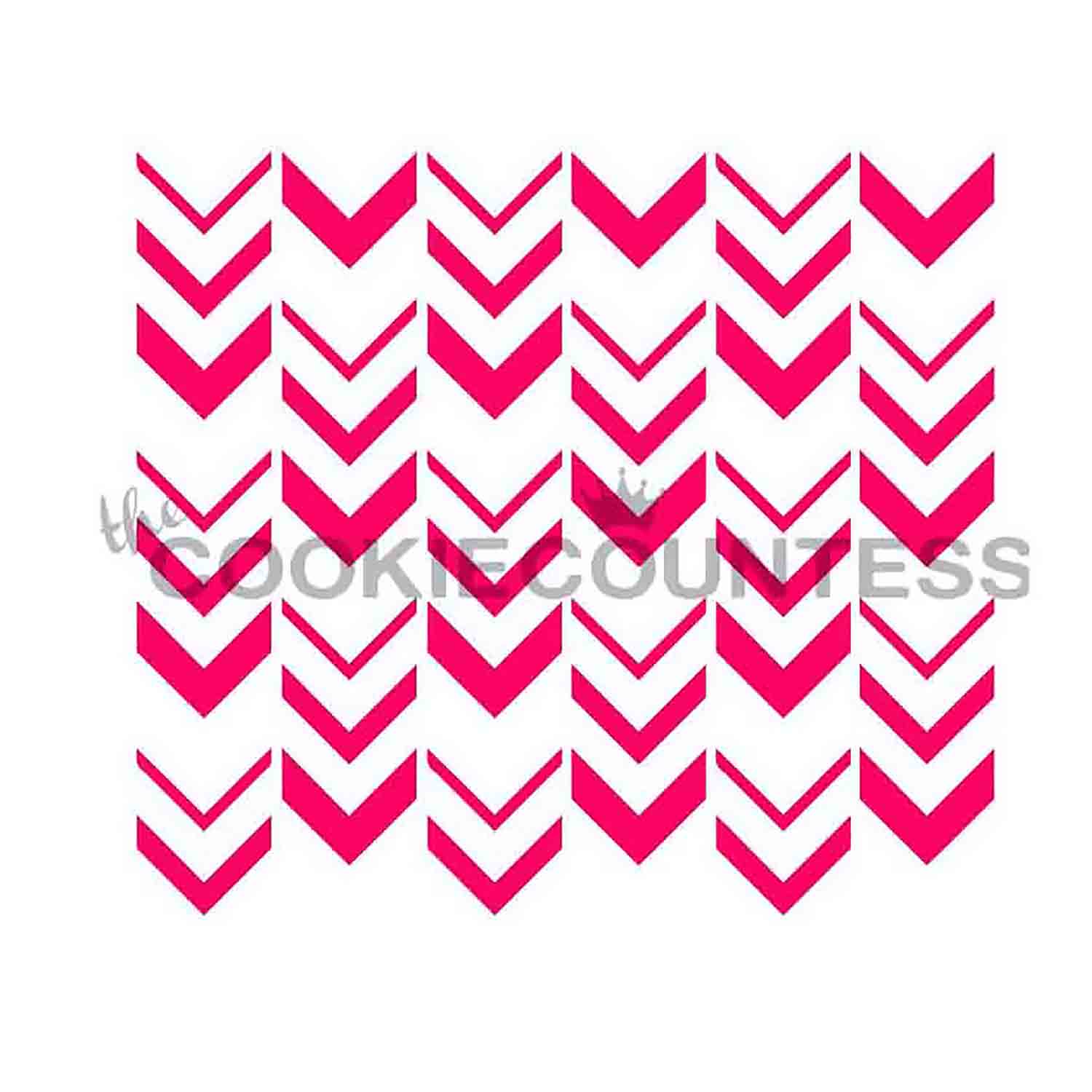 Ombre Arrow Cookie Stencil
