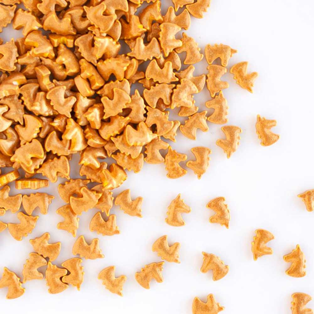 Gold Unicorn Shaped Sprinkles