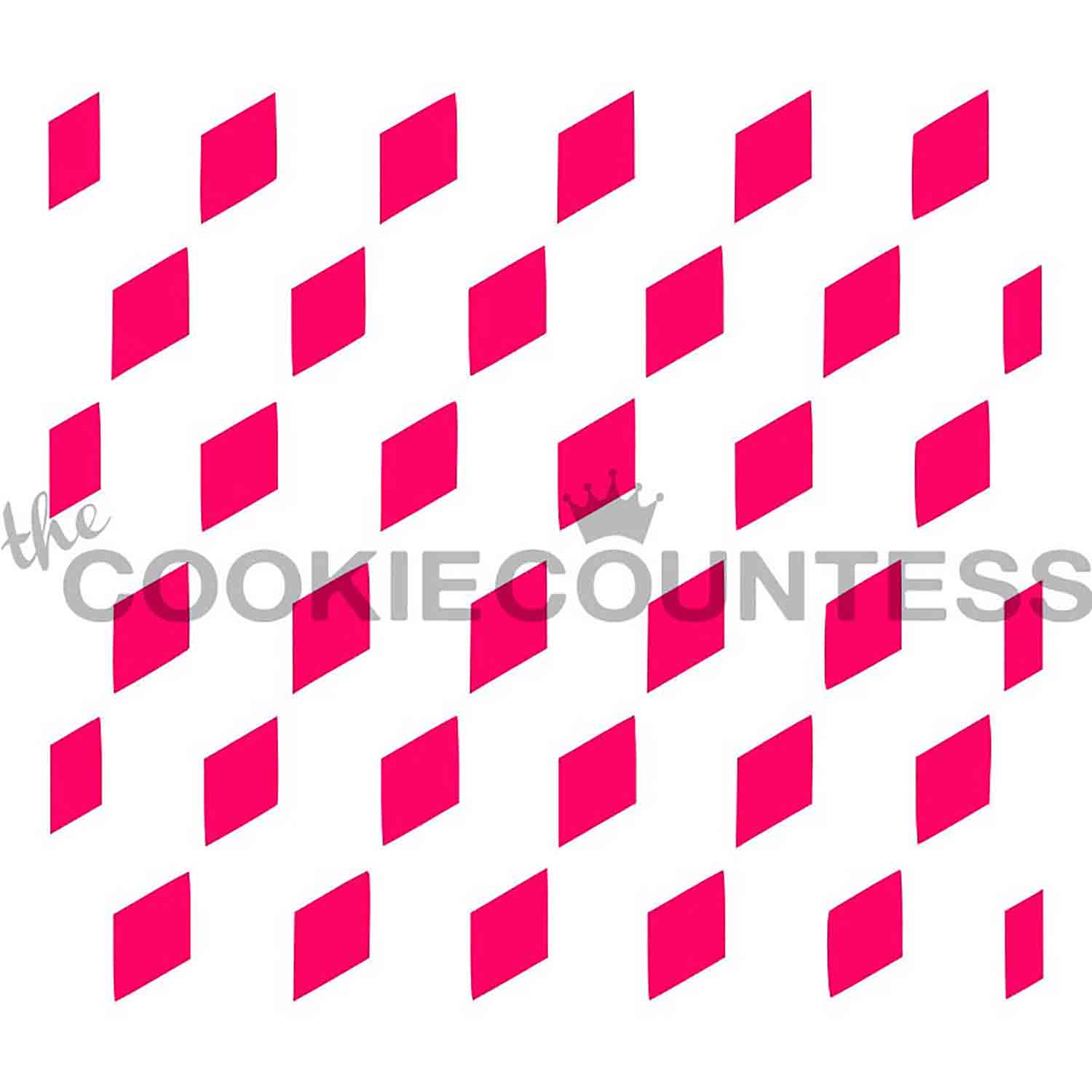 Vasarely Cubes Cookie Stencil