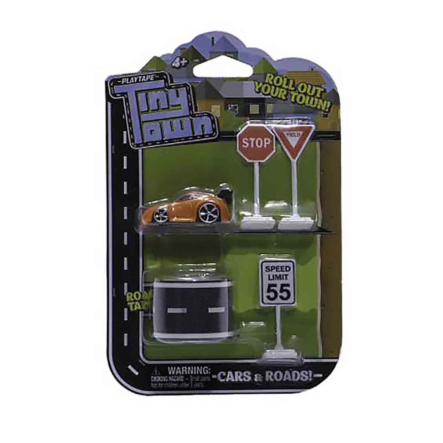 Tiny Town Car and Road Set