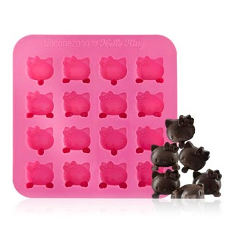 Hello Kitty Silicone Chocolate Mold