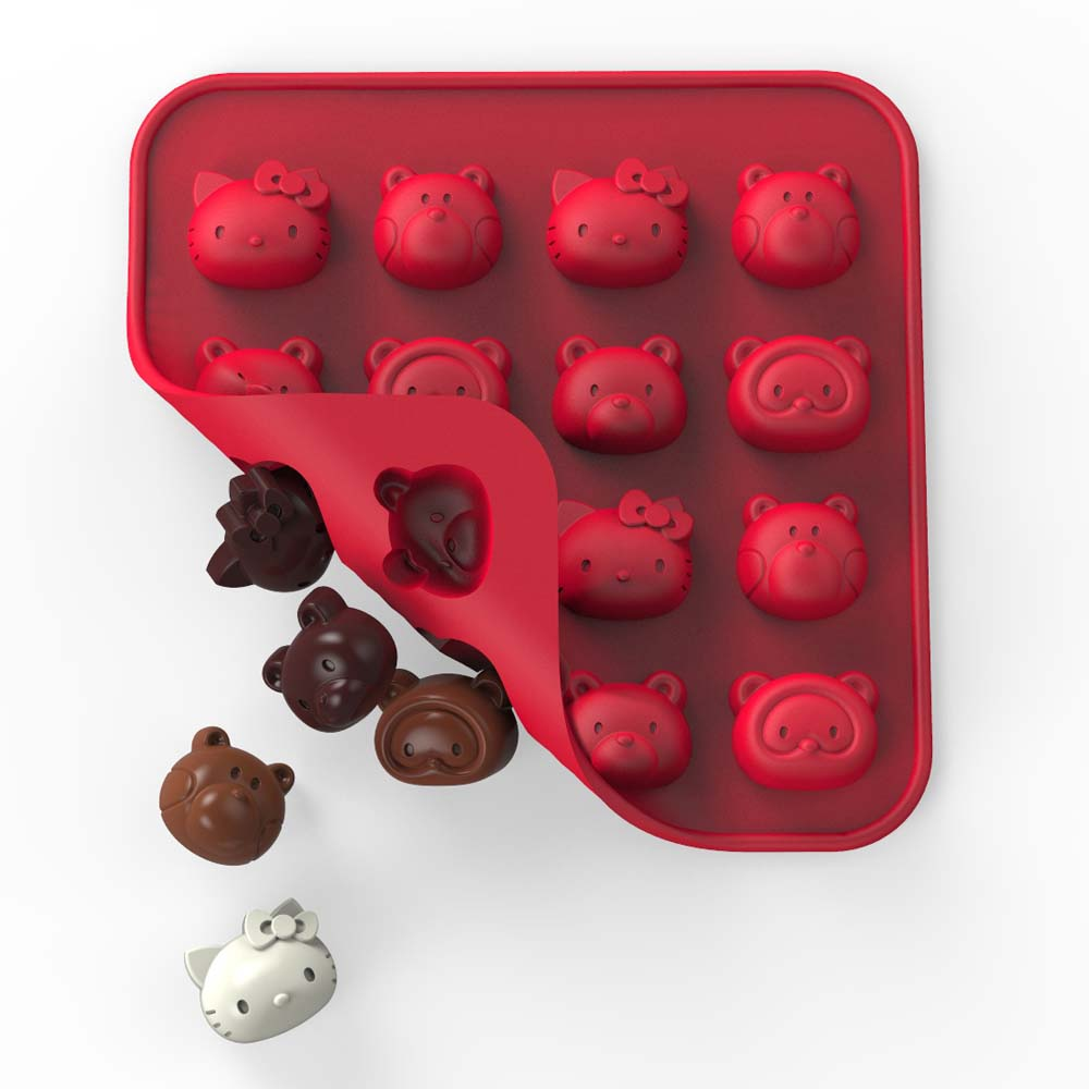 Hello Kitty Friends Silicone Chocolate Mold