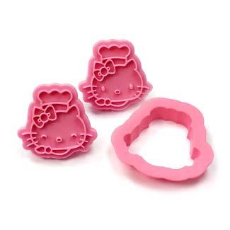 Hello Kitty Cookie Cutter Stamp Set