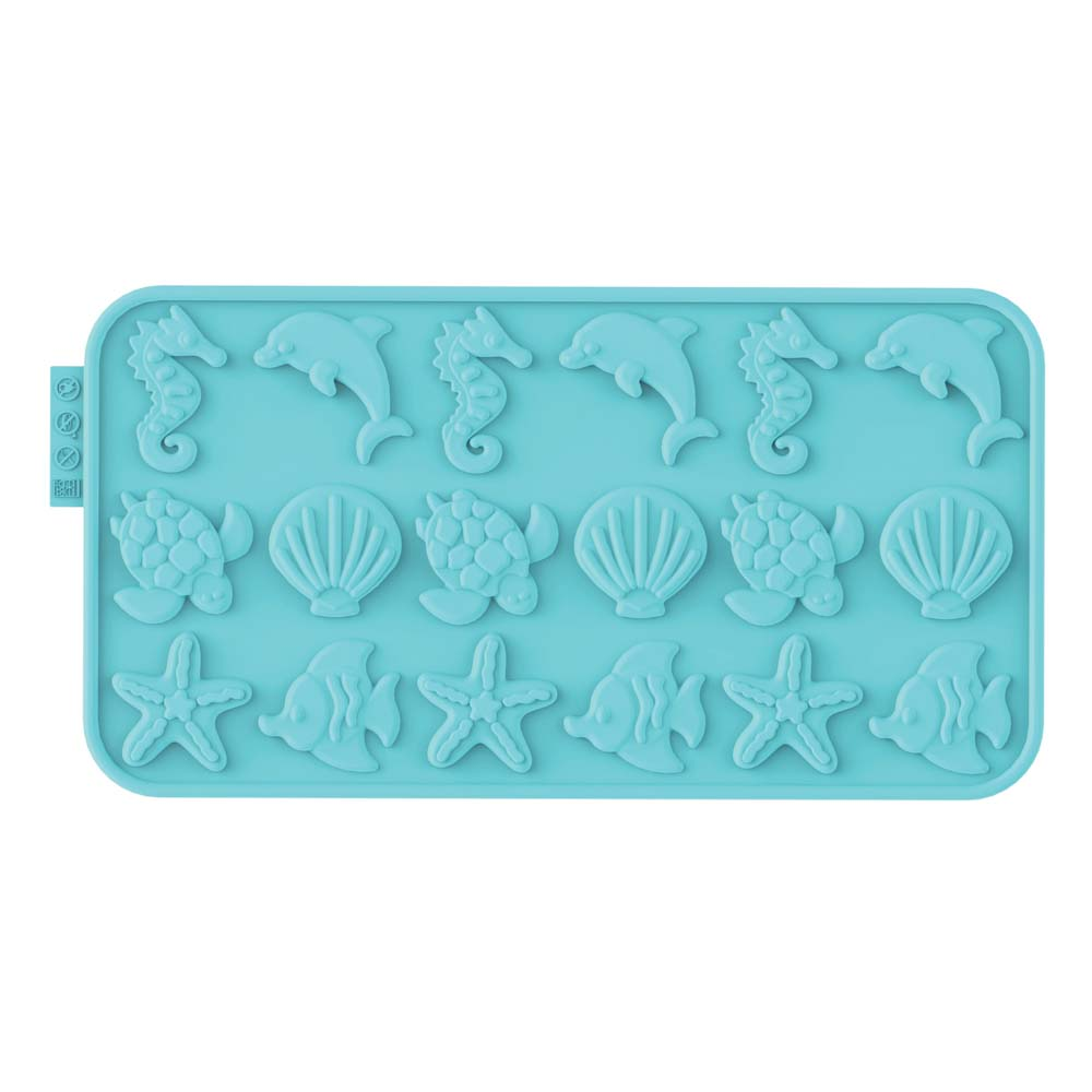 Ocean Silicone Chocolate Mold