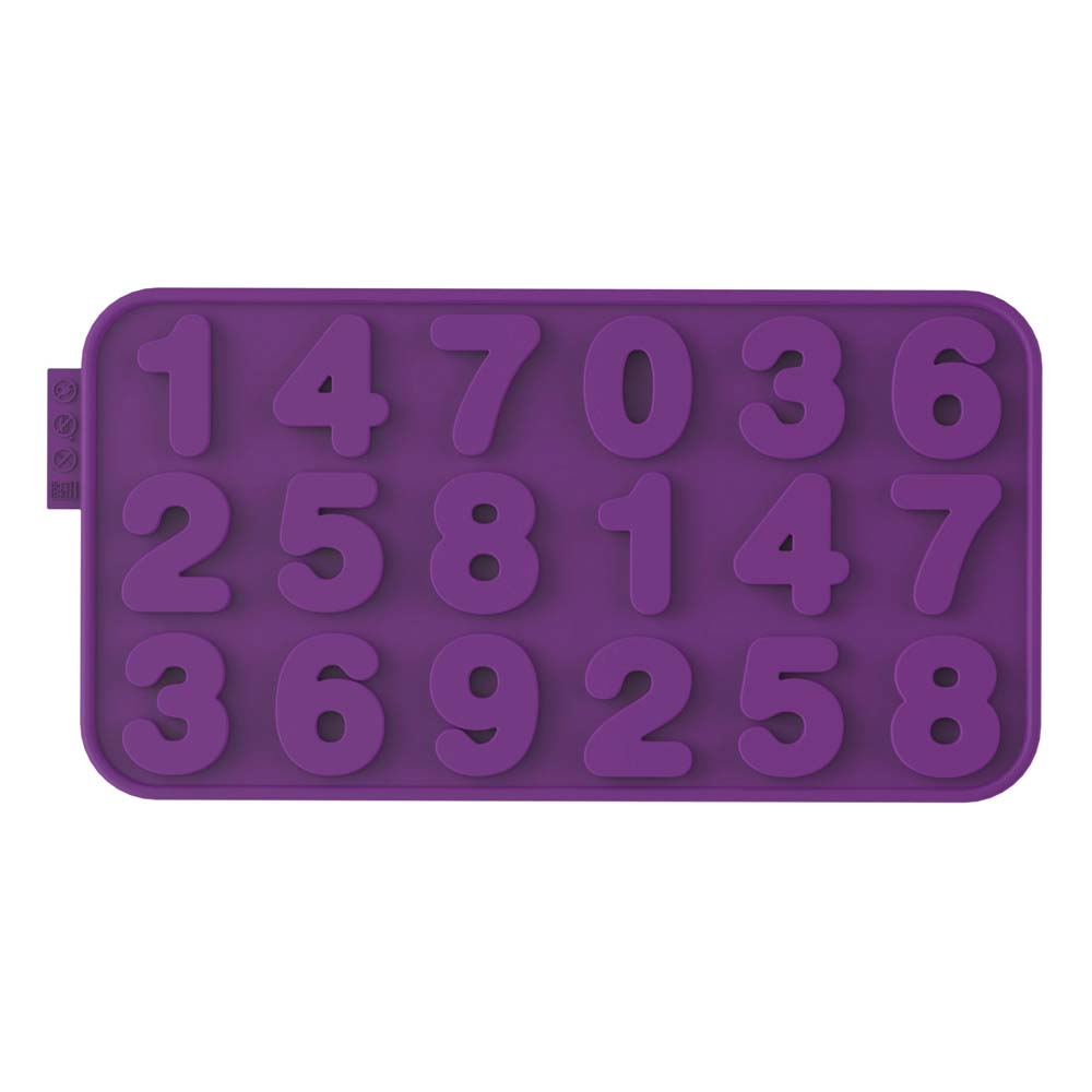 Number Silicone Chocolate Mold