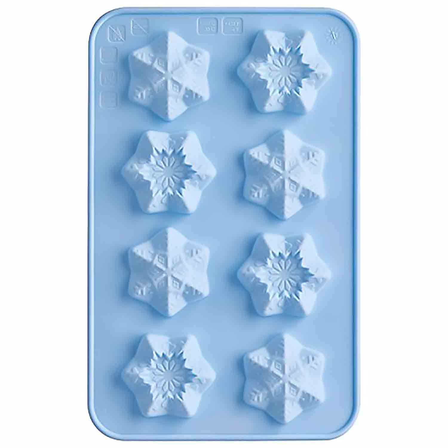 Snowflakes Chocolate Candy Mold