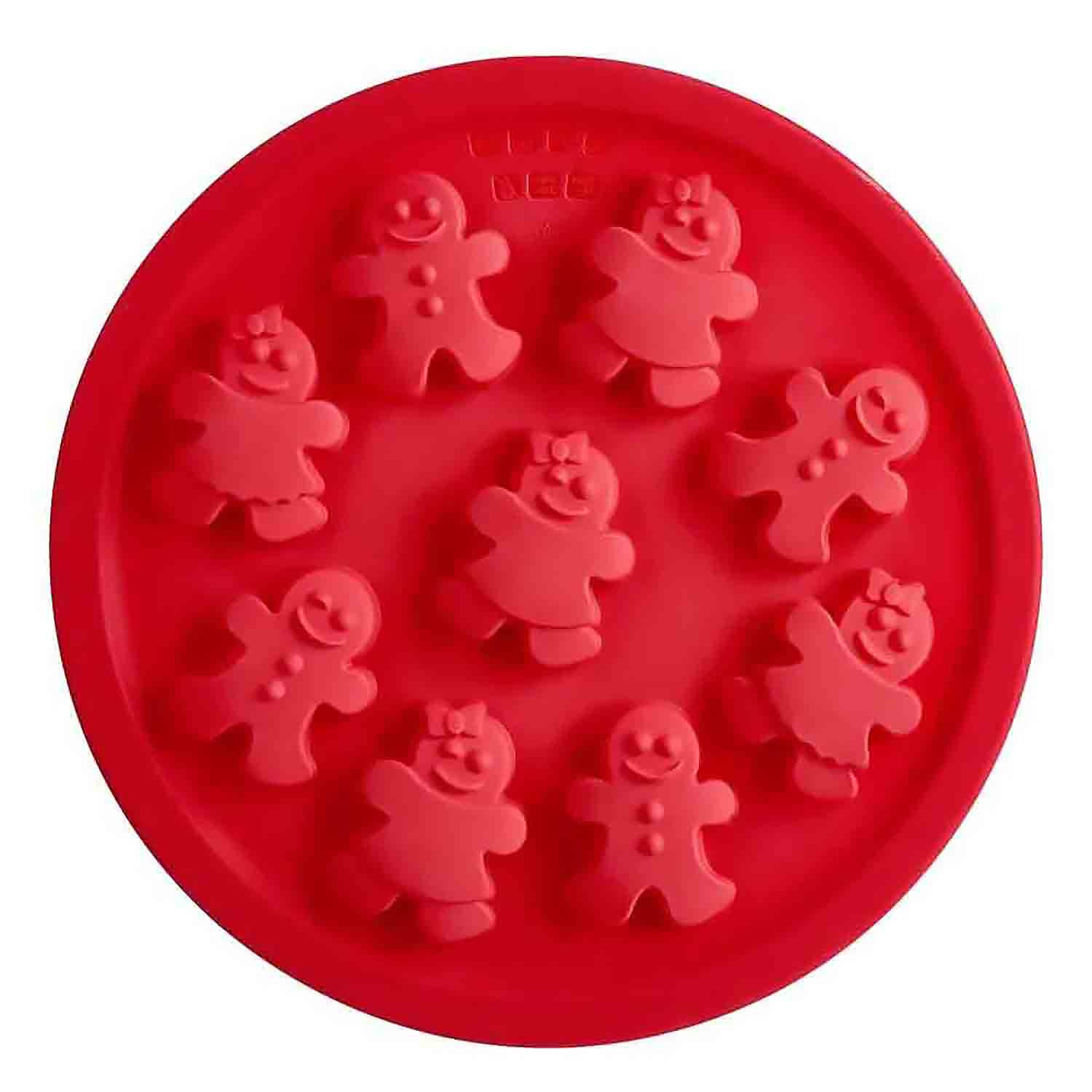 Gingerbread Silicone Cookie Pan