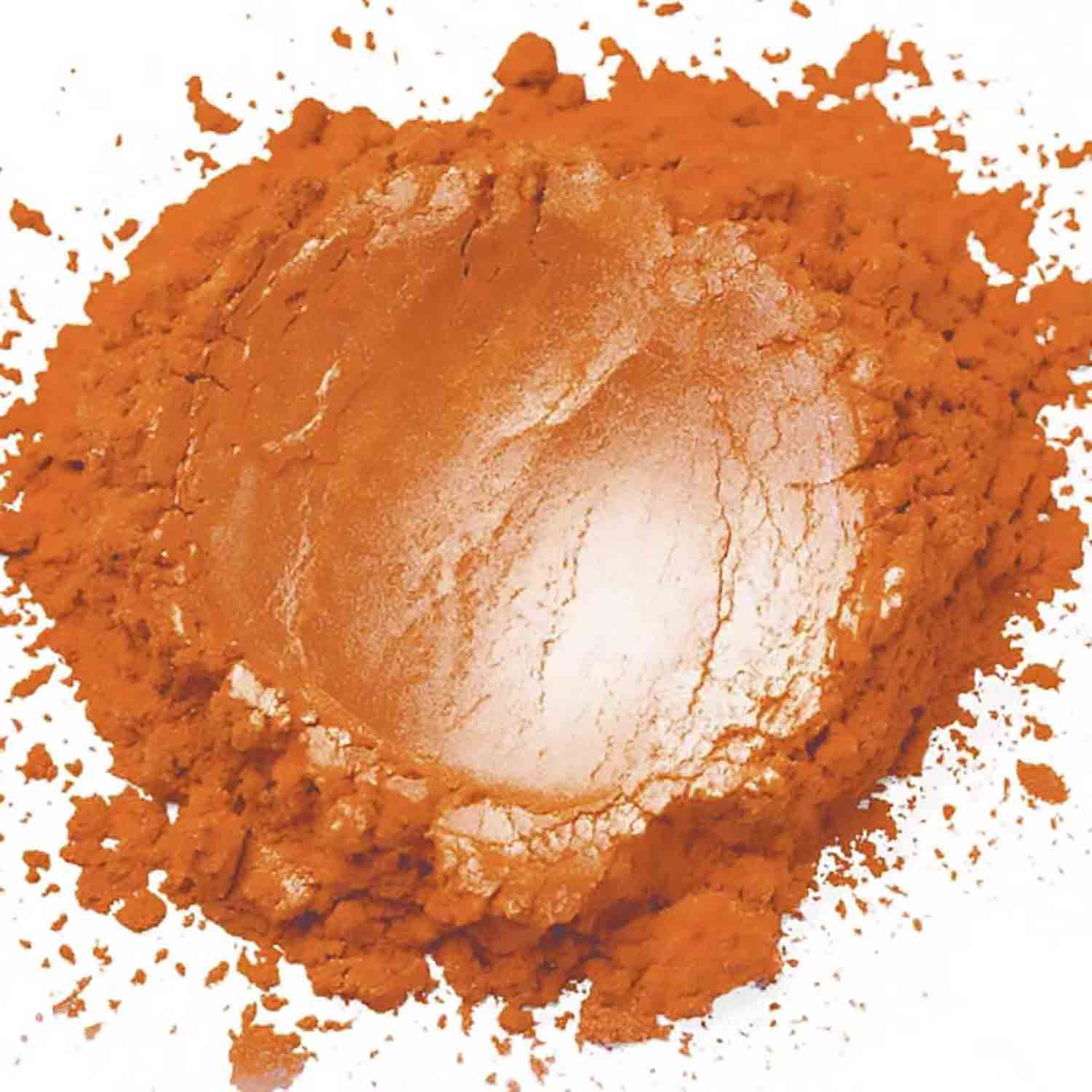 Orange Sterling Pearl Dust