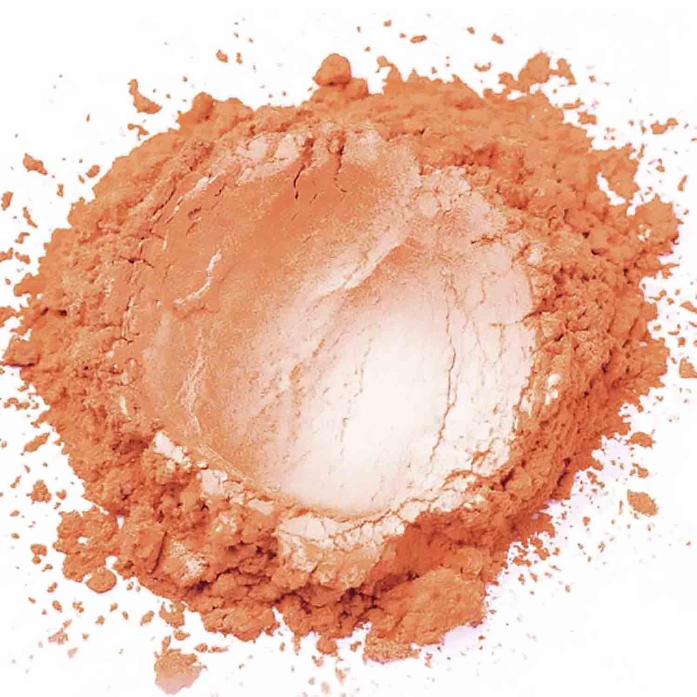 Orange Zest Sterling Pearl Dust