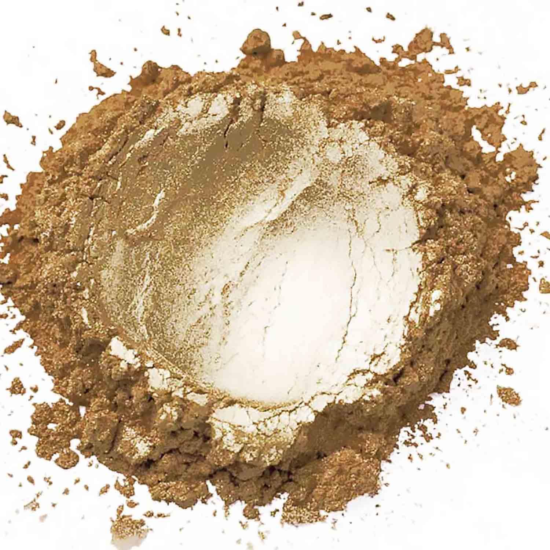 Bronze Sterling Pearl Dust