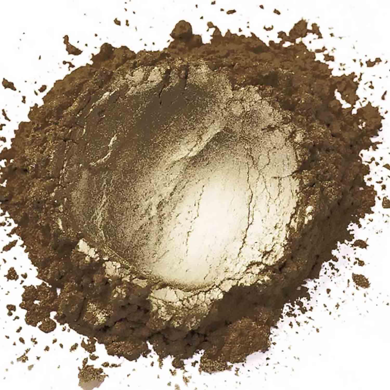 Light Brown Sterling Pearl Dust