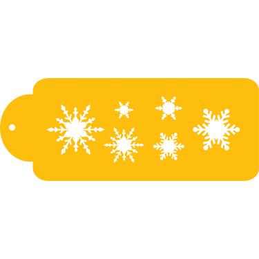 Snowflakes Designer Stencil