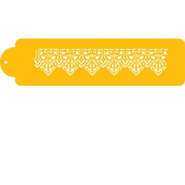 Lace Points Designer Stencil