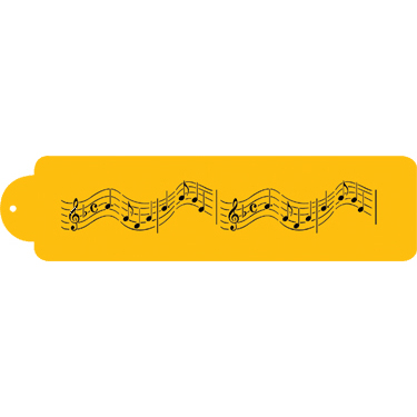 Musical Notes Designer Stencil