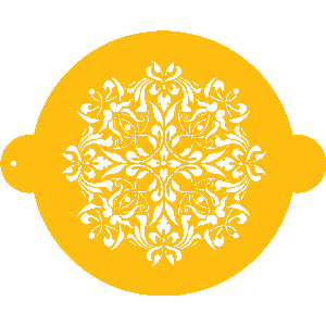 French Medallion Designer Stencil