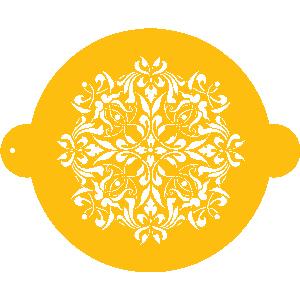 French Medallion Designer Stencil