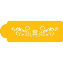 Fleur De Lis Designer Stencil