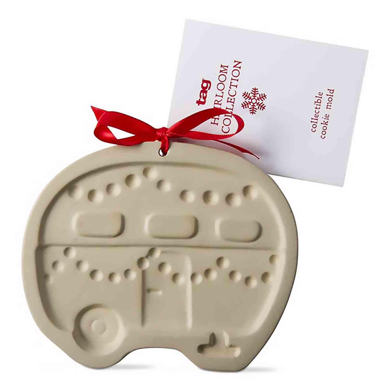 Holiday Camper Cookie Mold
