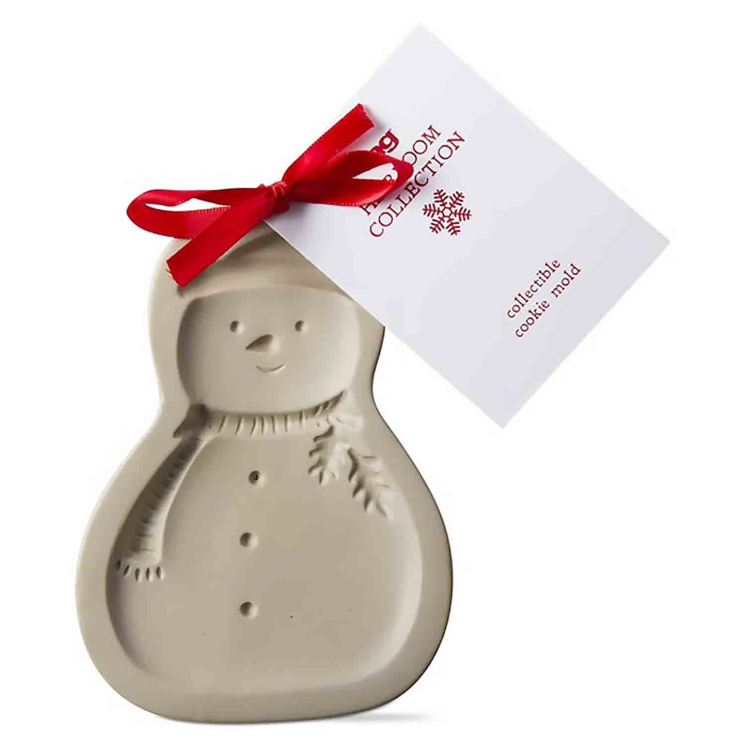 Holiday Snowman Cookie Mold