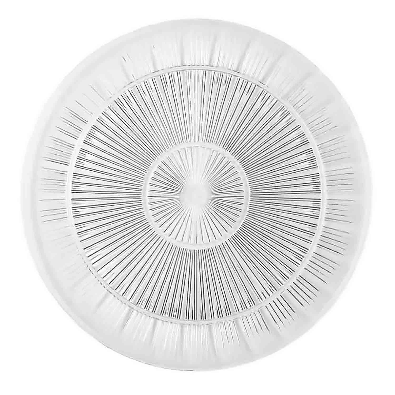 "9"" Clear Platter"