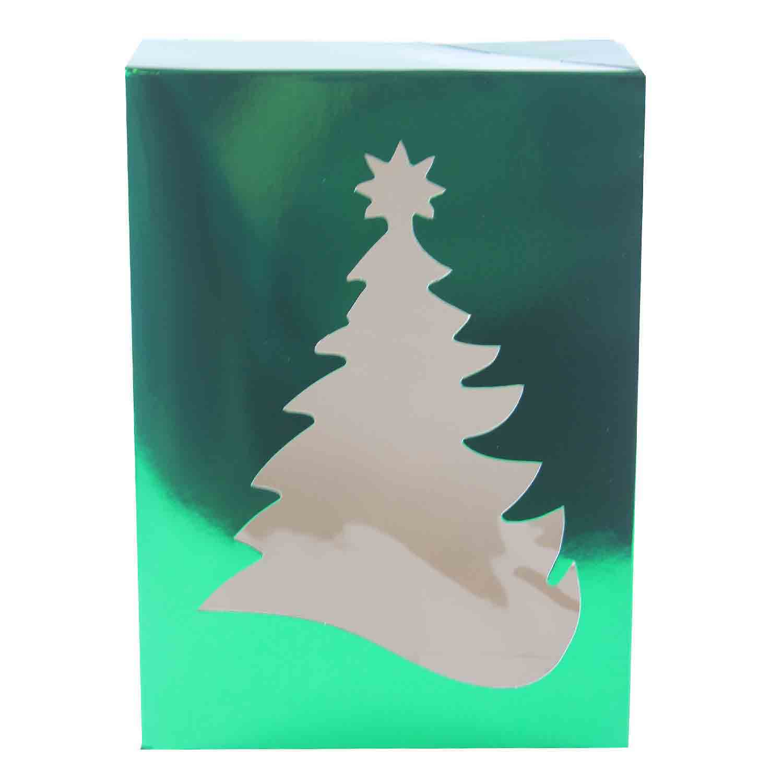 1 lb Green Tree Candy Box