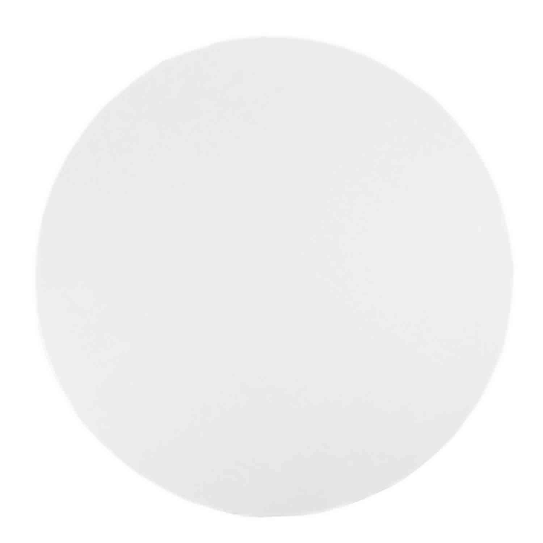 """8"""" Round White Foil Sturdy Board"""