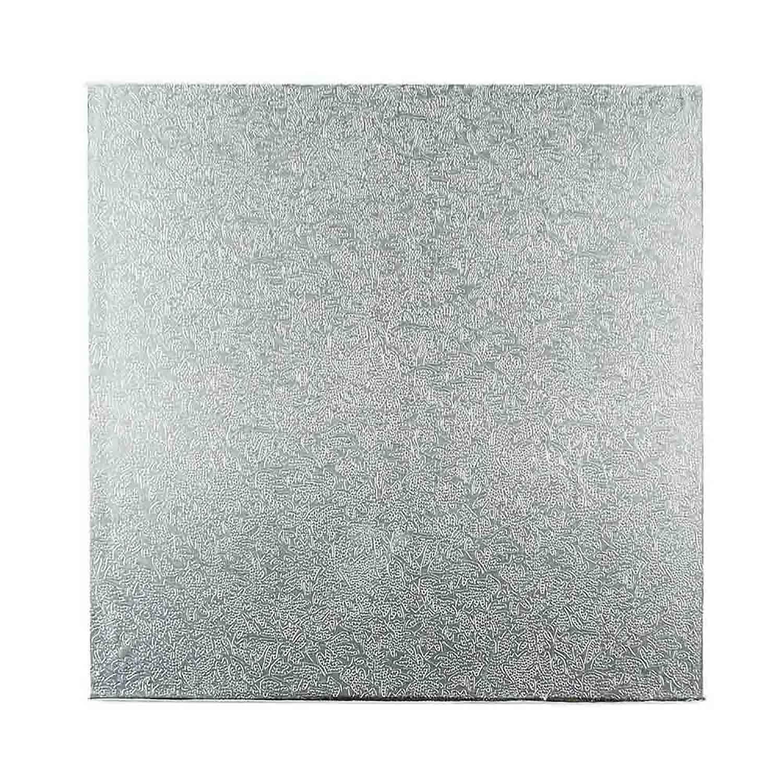 """6"""" Square Silver Foil Sturdy Board"""