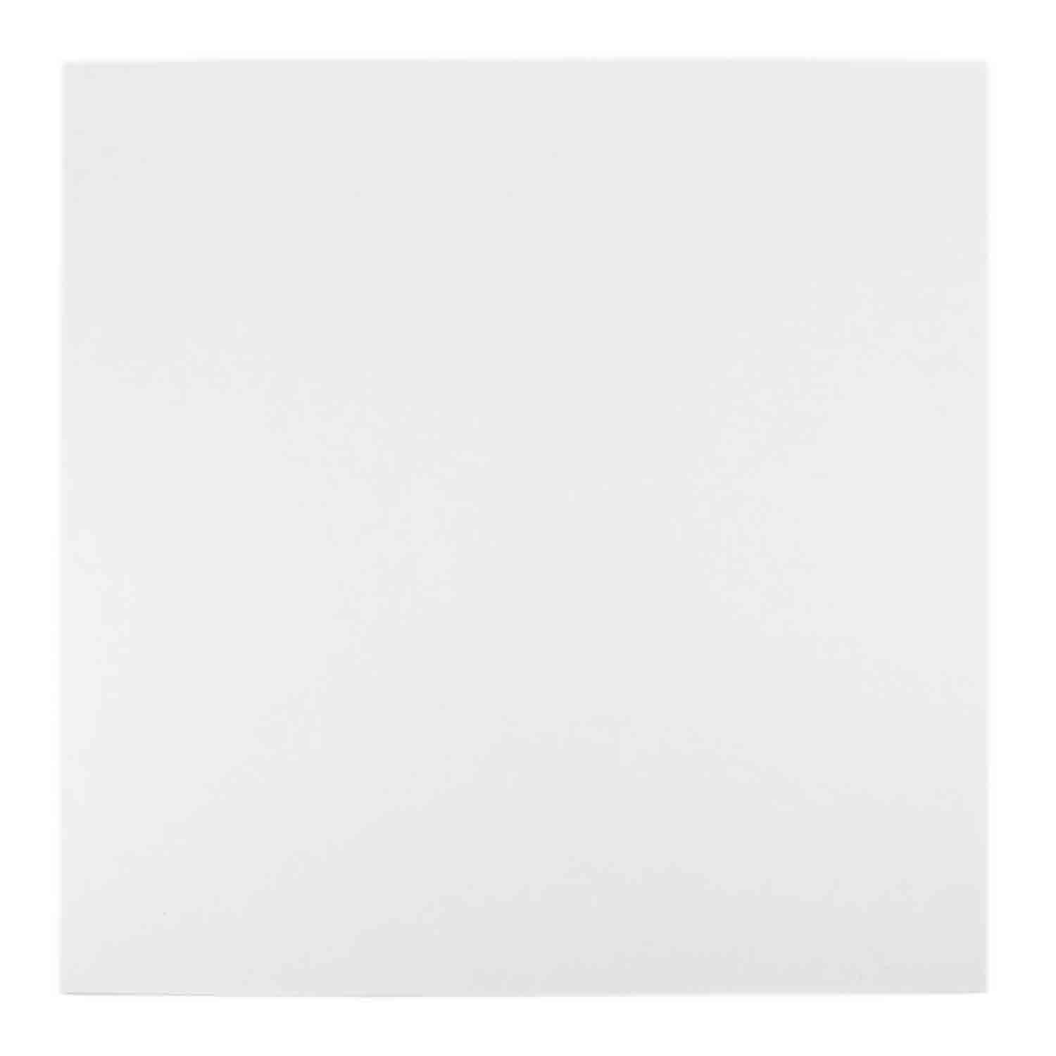 "6"" Square White Foil Sturdy Board"