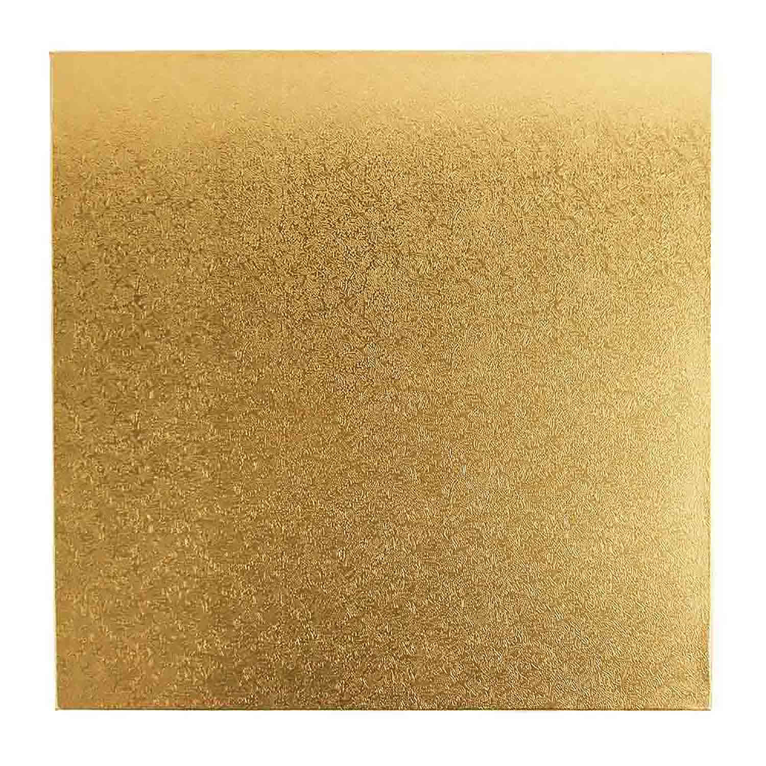 "8"" Square Gold Foil Sturdy Board"