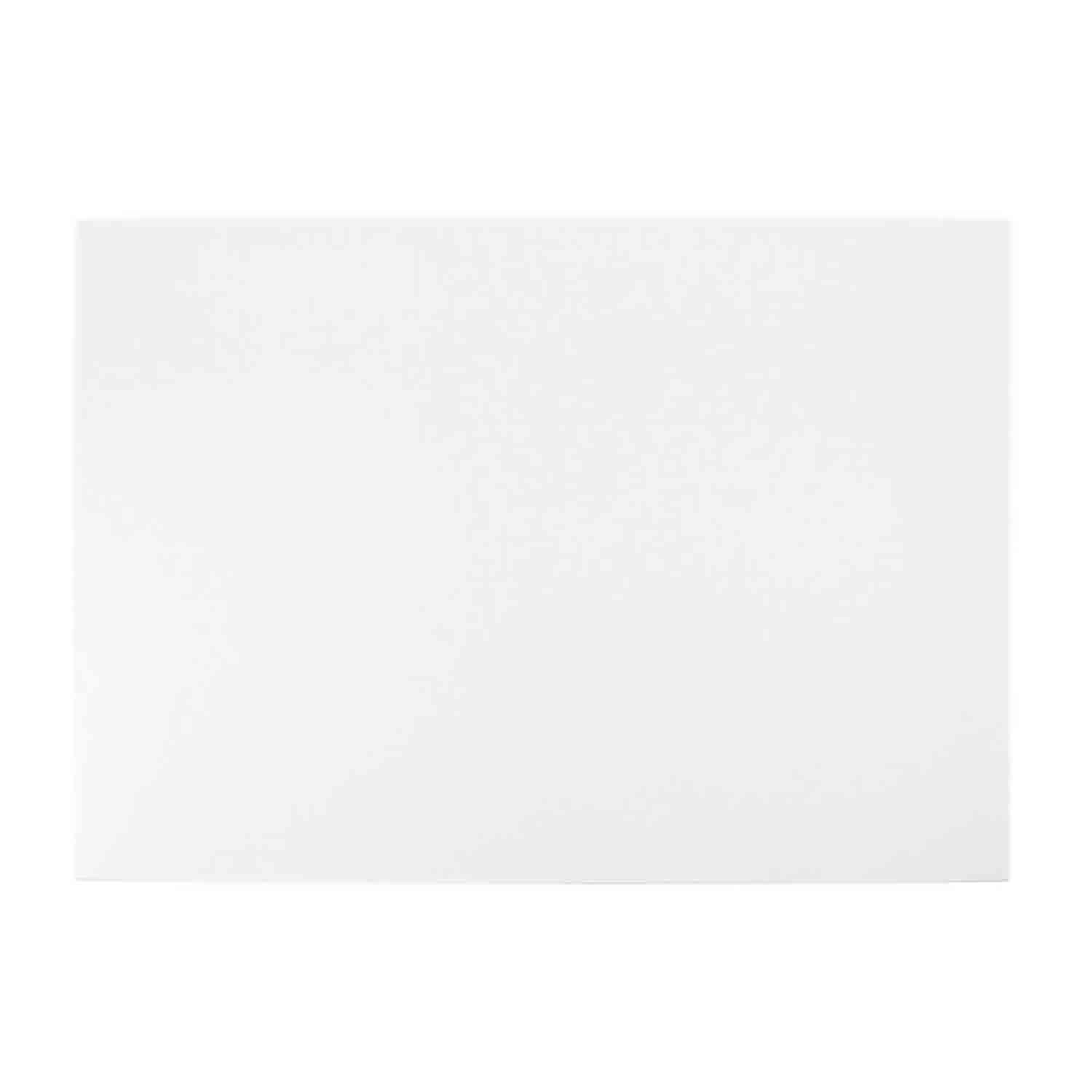 Quarter Sheet White Foil Sturdy Board