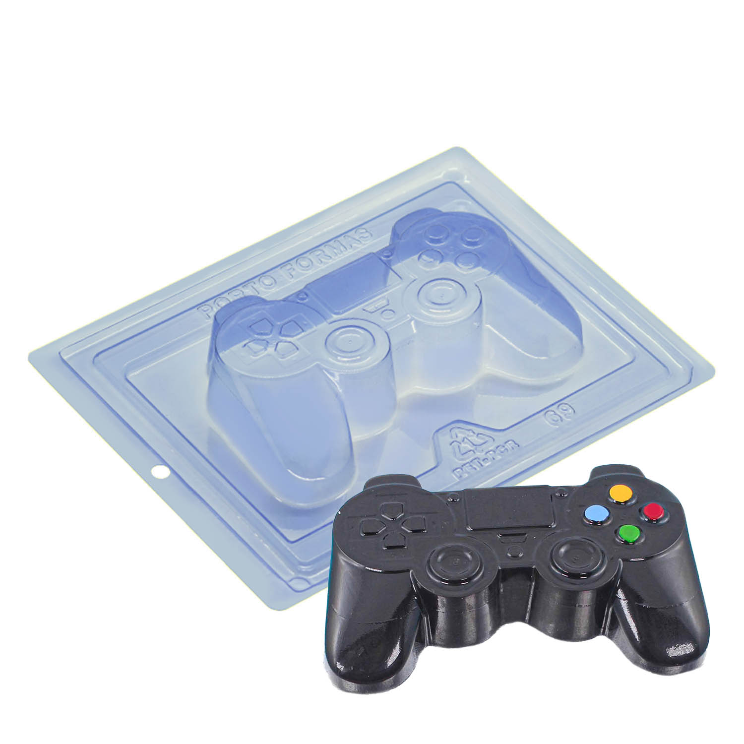 Video Game Controller Three Part Mold