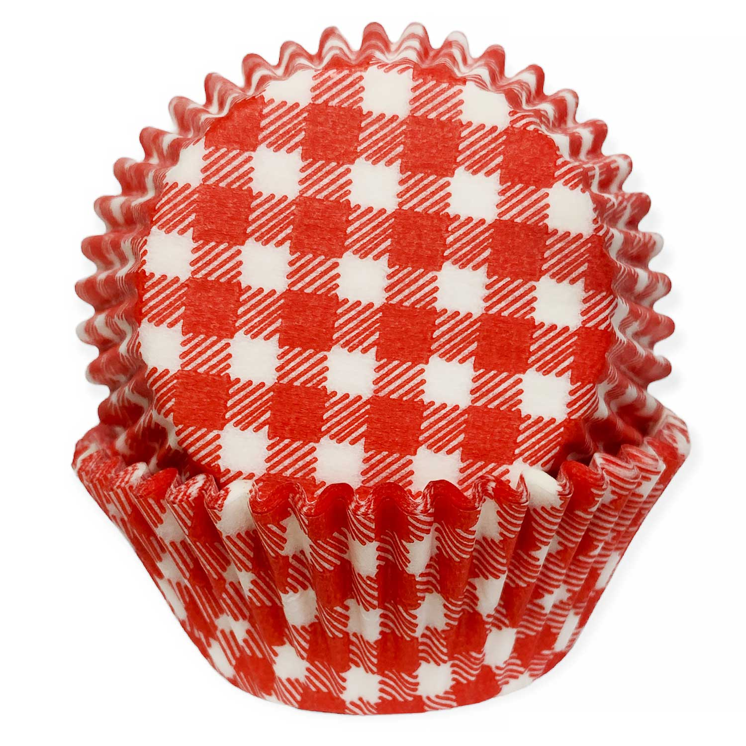 Red Gingham Standard Baking Cups