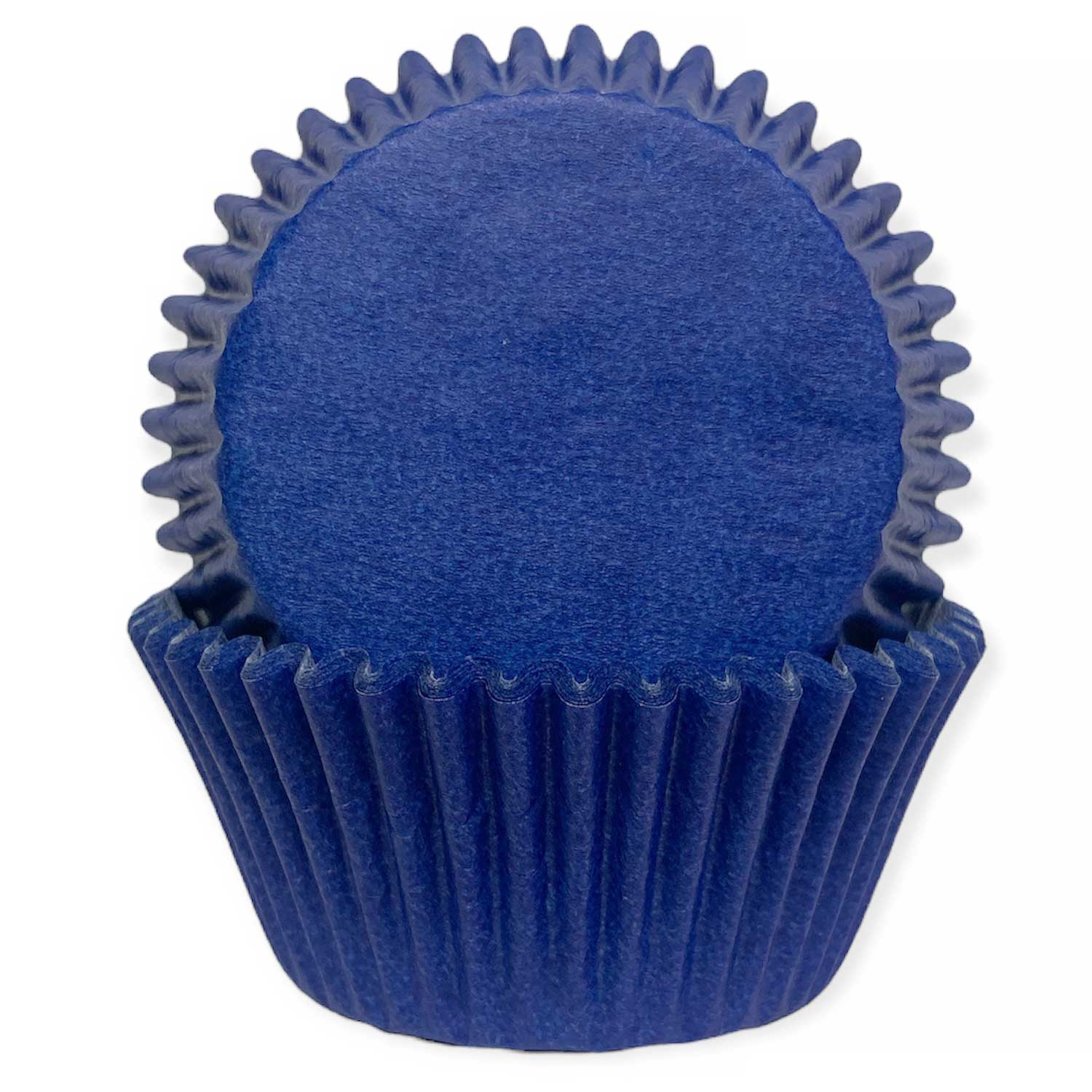 Solid Blue Standard Baking Cups