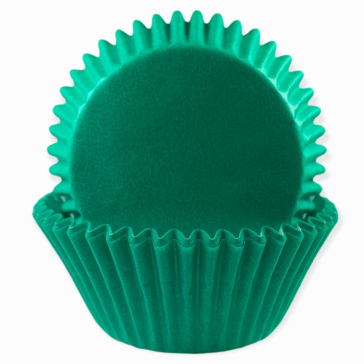 Solid Teal Green Standard Baking Cups
