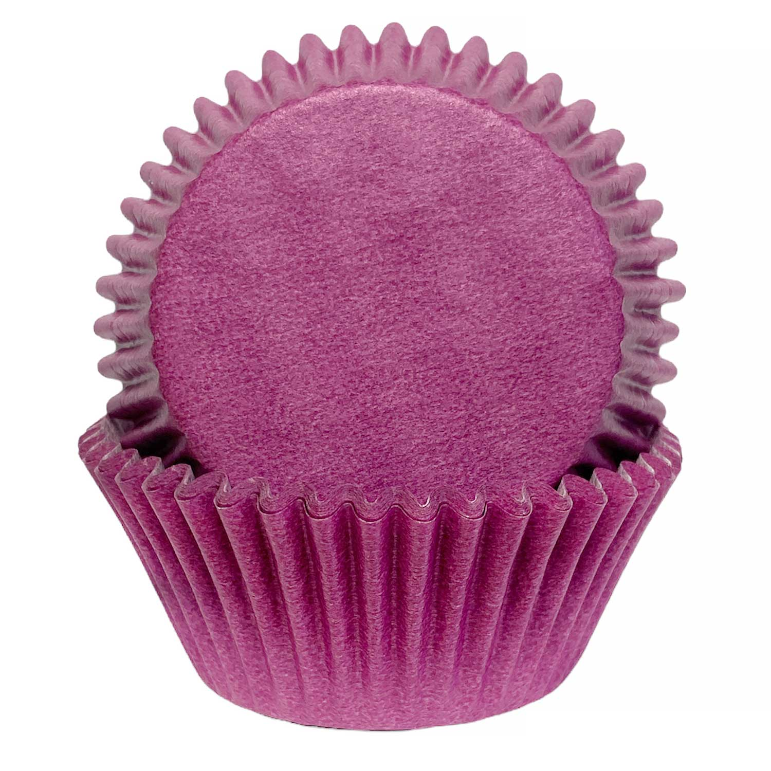 Solid Orchid Standard Baking Cups