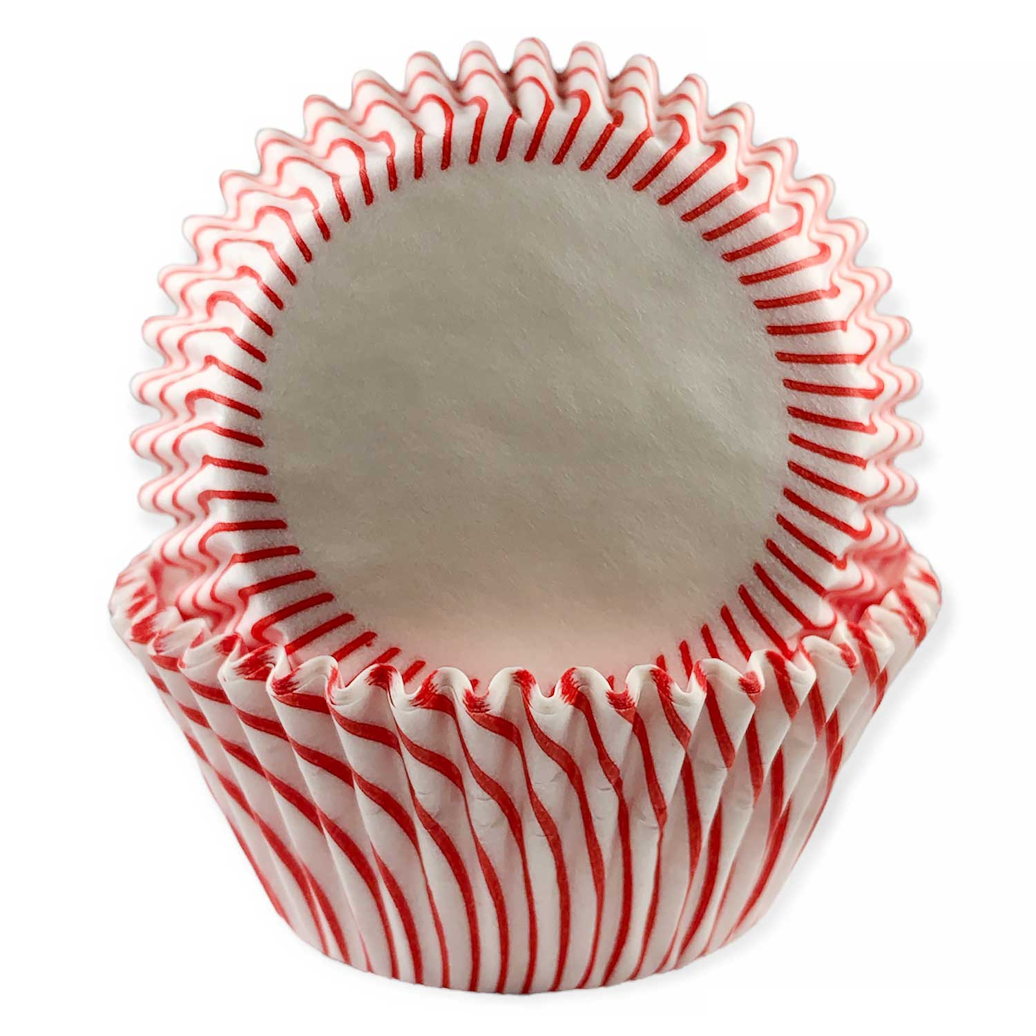Red Striped Standard Baking Cups