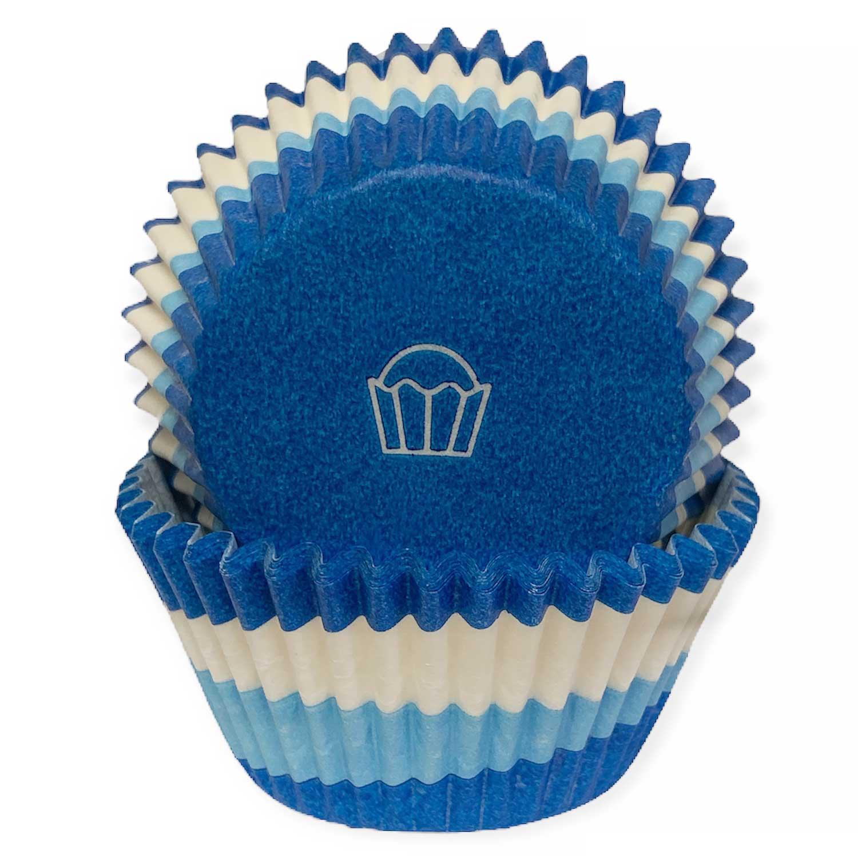 Blue Swirl Standard Baking Cups