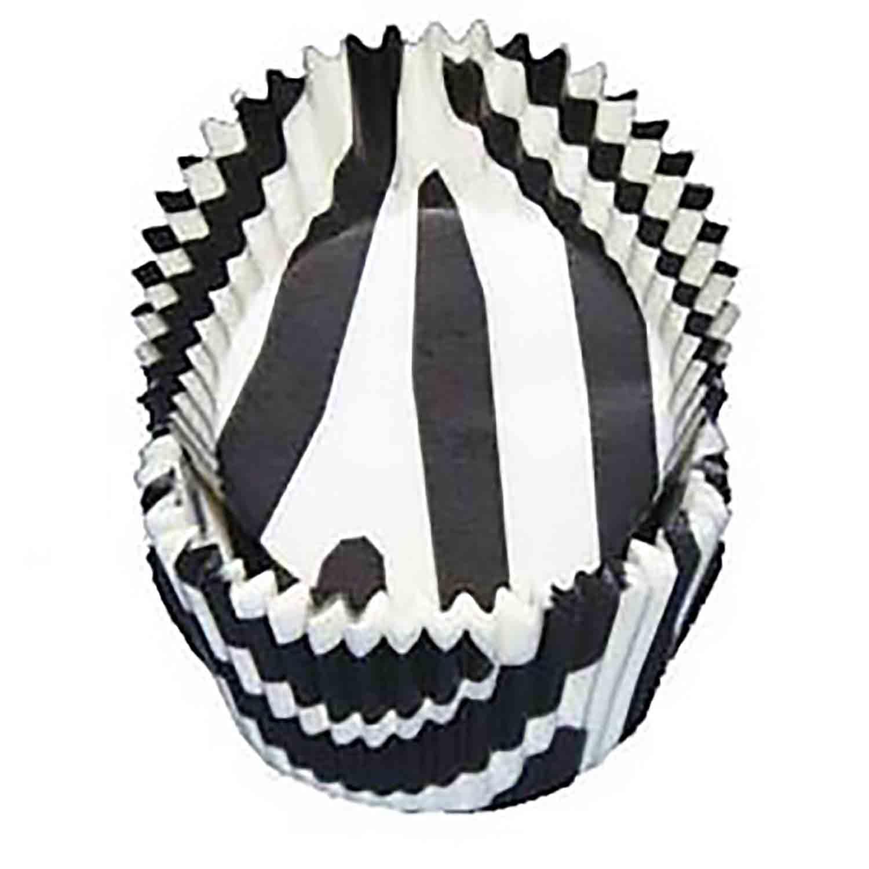 Zebra Print Standard Baking Cups