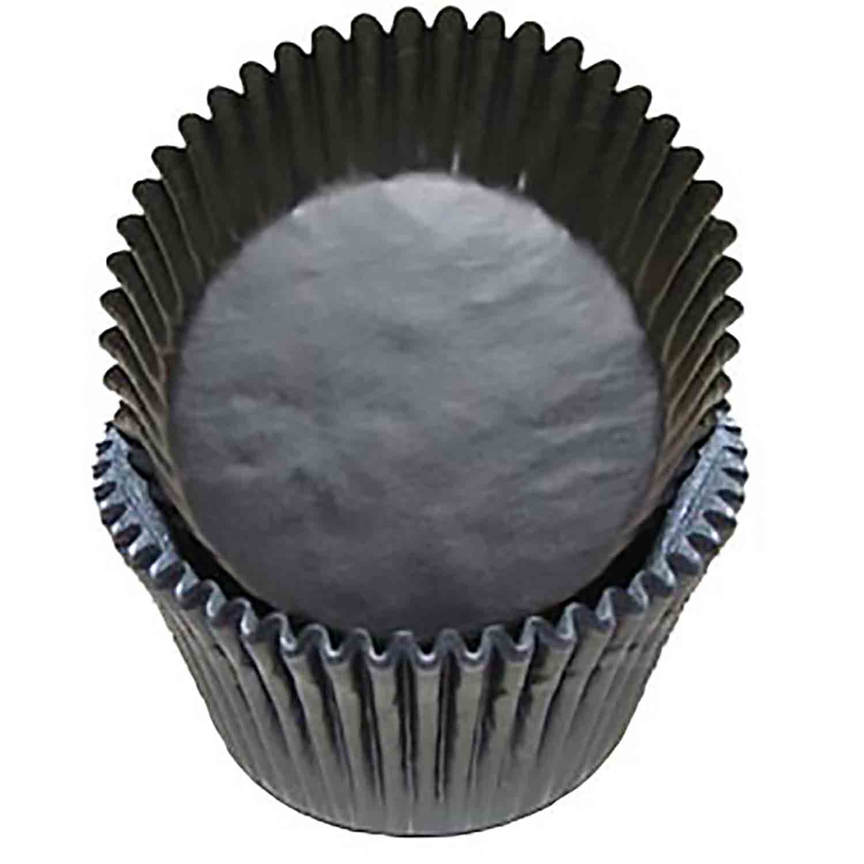 Black Jumbo Baking Cups