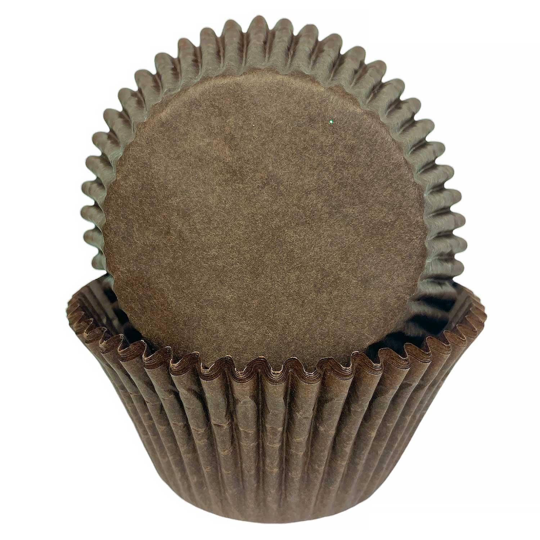 Brown Jumbo Baking Cups
