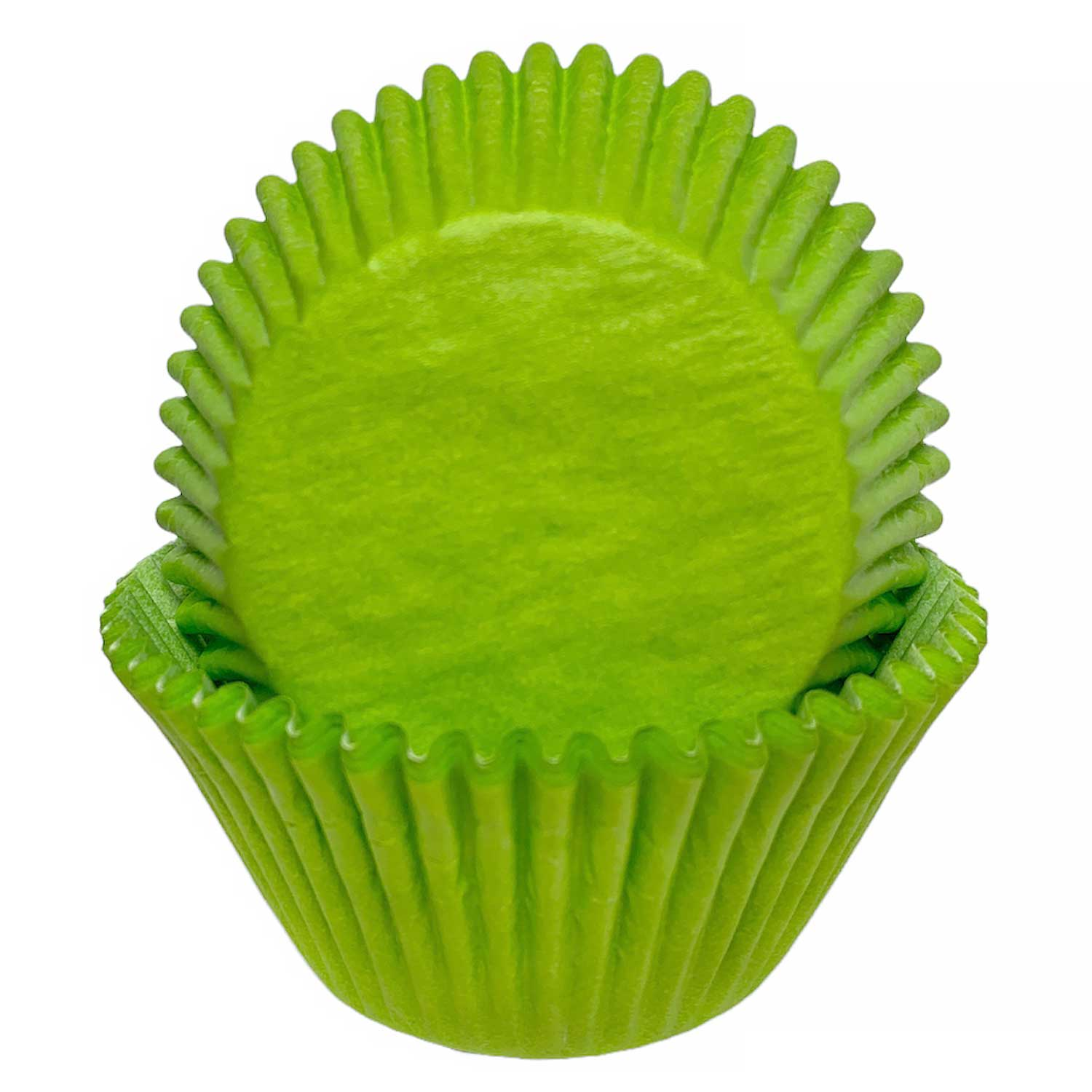 Lime Green Jumbo Baking Cups
