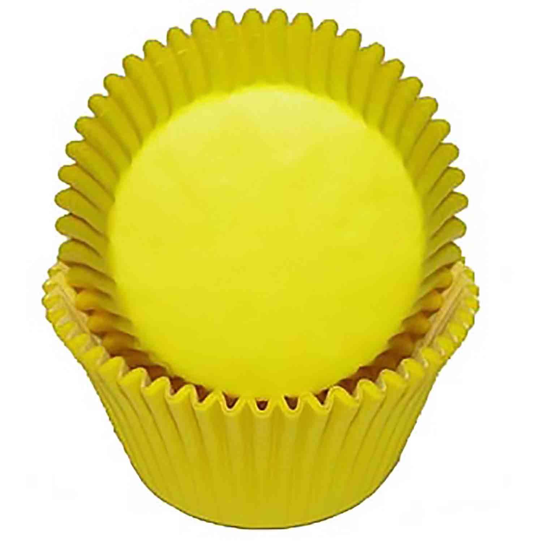 Yellow Jumbo Baking Cups