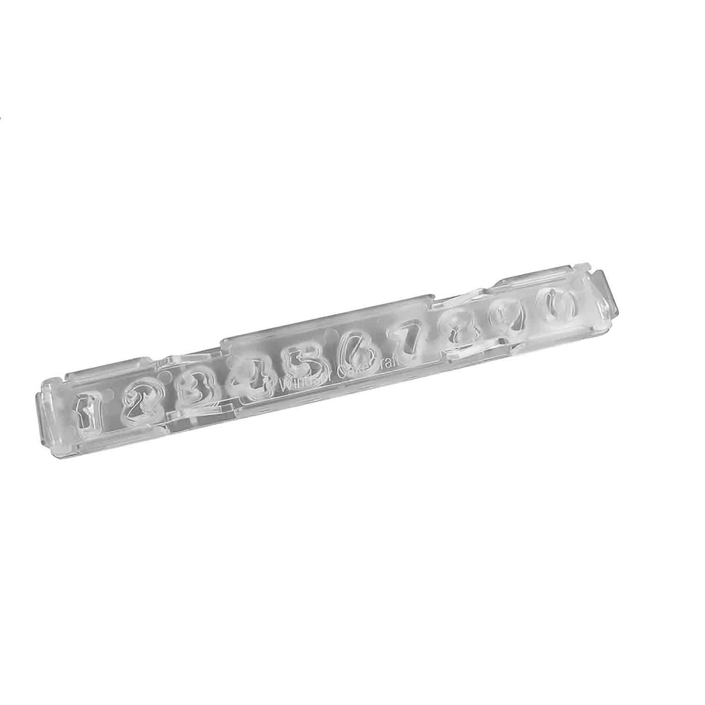 Small Font Clikstix Number Cutter Set
