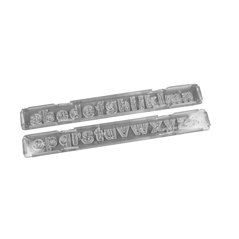 Block Lowercase Clikstix Alphabet Cutter Set