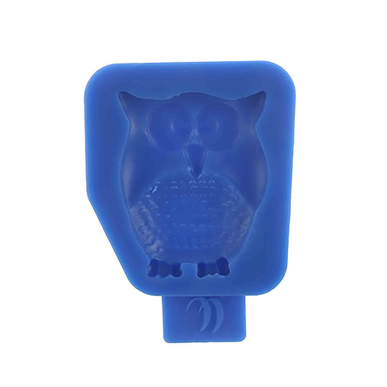 Retro Owl Silicone Mold