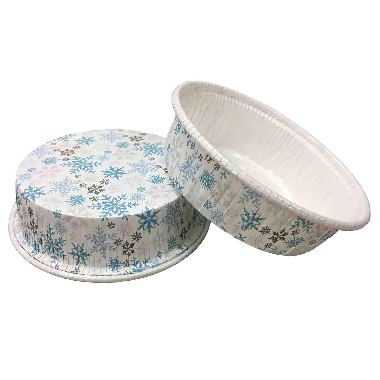 Snowflake Baking Cups